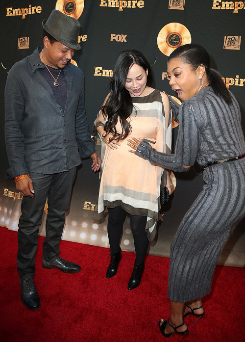 Terrence Howard & Wife Mira Pak are Pregnant