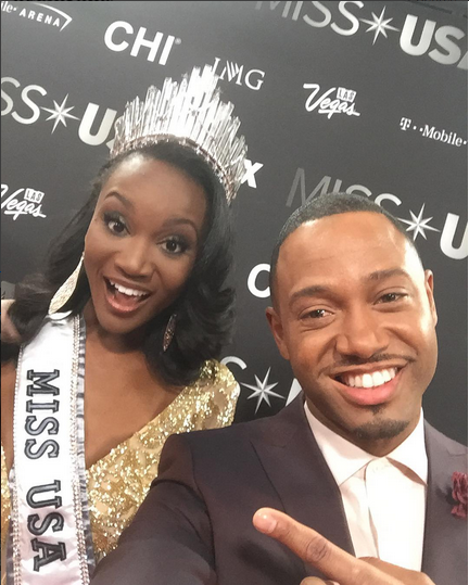 Congrats to Deshauna Barber  the Miss USA 2016