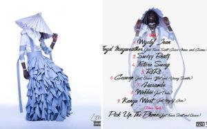 Jeffery and his high profile outfit along with his track list that was icon inspired